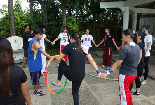 TEAM building games 9