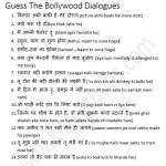 one minute hindi kitty party game