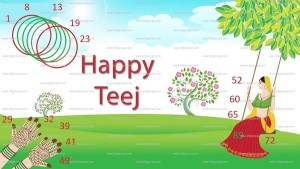 happy teej tambola