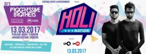 Holi Events in Delhi 2017