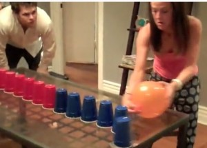 party games with balloons