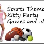 sports theme kitty party games and ideas