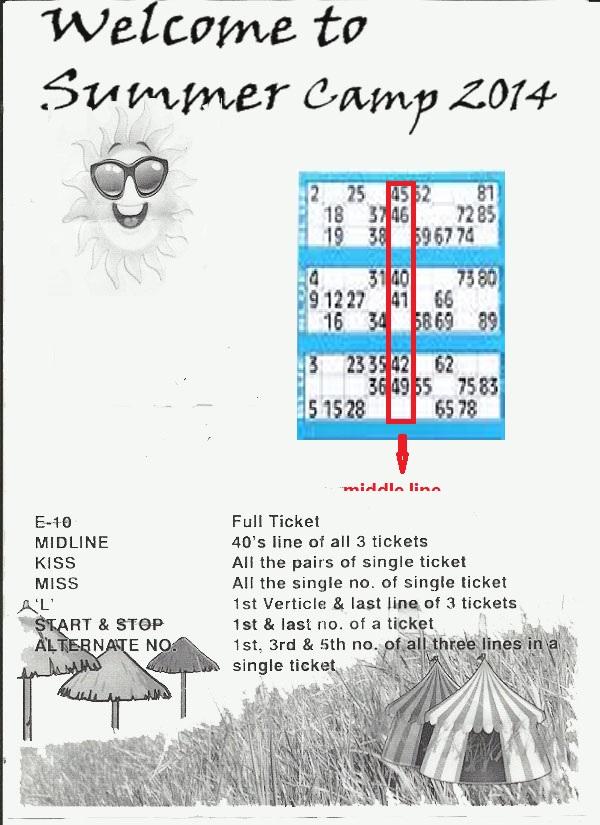 tambola tickets