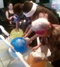 baby shower games with balloons