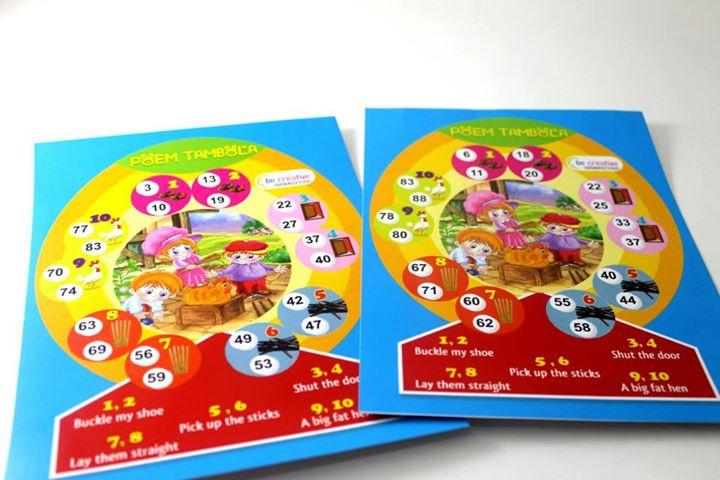 Tambola Games : Poem Tambola Designer Tambola Tickets