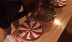 Christmas Party Games For Kids: Pick Up Your Candies