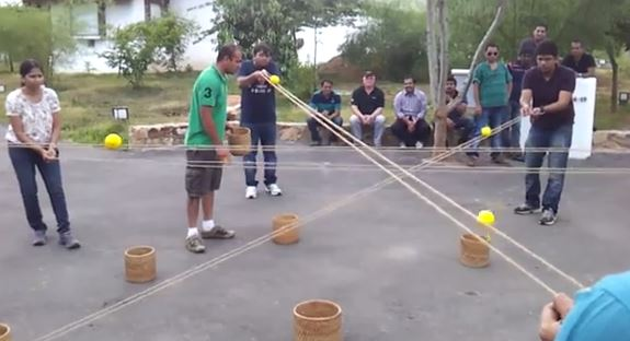 Crab Soccer - Ice breakers and team building games