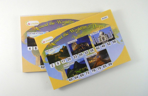 designer tambola tickets
