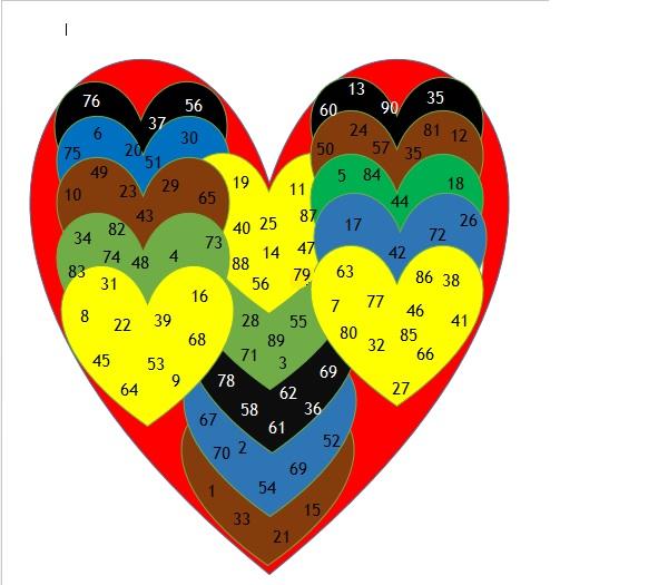 Valentine Tambola Games