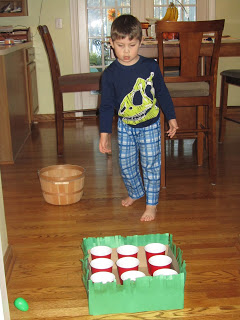 Easter Party Games For Kids : Tic Tac Toe With Eggs