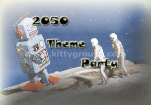 2050 Theme Party Games and Ideas