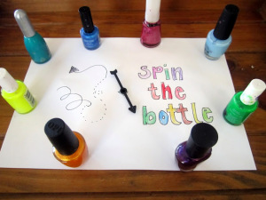Cute Party Game For Girls : Paint Your Nails