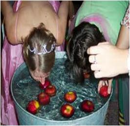 Bobbing Apples: Fun Halloween Party Game Teenagers
