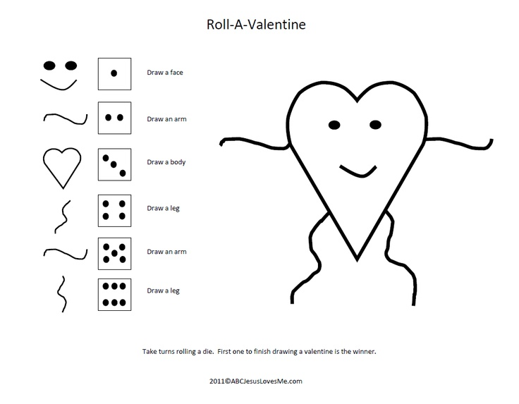 Valentines Day Ladies Party Game.