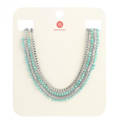 interlinked multichain necklace