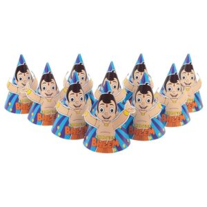 chota bheem birthday caps