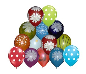 Flowery Balloons Pack of 30 for Rs 280