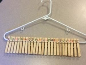 Handy Clothespins: Baby Shower One Minute Party Game