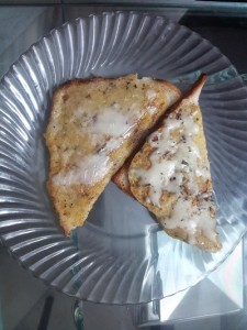 Tasty Bread Besan Toast in 5 Minutes