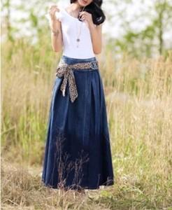 denim skirt2