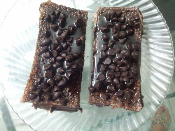 make chocolate pastry at home in 10 minutes