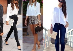 white collar shirt with pant