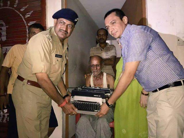 Mr. Kishan Kumar Got a New Typewriter: UP Policeman Suspended