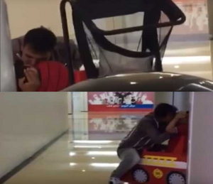 Boy Molested in Toy Car In Mall