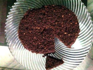 Eggless Atta Chocolate Cake Recipe