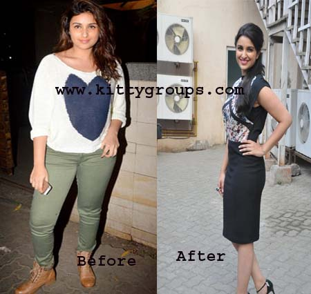 parineeti chopra weight loss secrets
