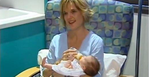 Miraculous baby born twice