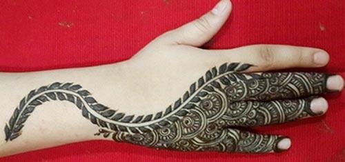 arabic mehandi designs 2015 k