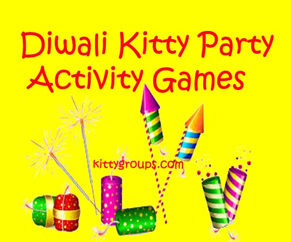 diwali kitty party activity games