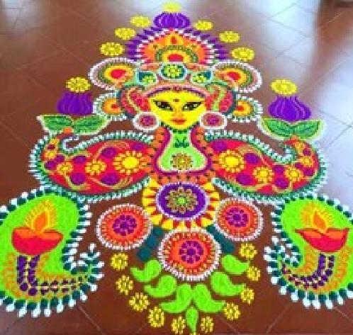 20 Best Diwali Rangoli Designs 2015