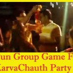 fun group game karvachauth party