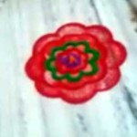 Simple Rangoli Design For Beginners