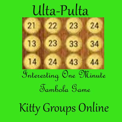 one minute tambola kitty party game