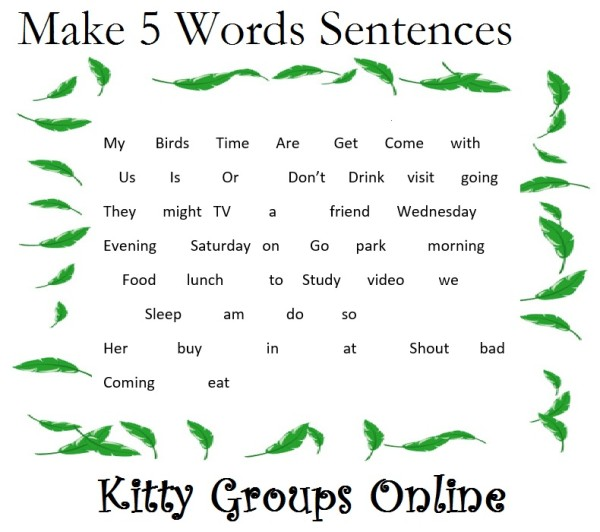 written kitty party game