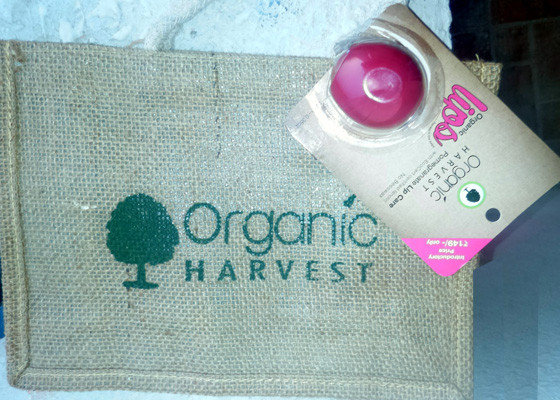 organic harvest pomegranate lip balm review