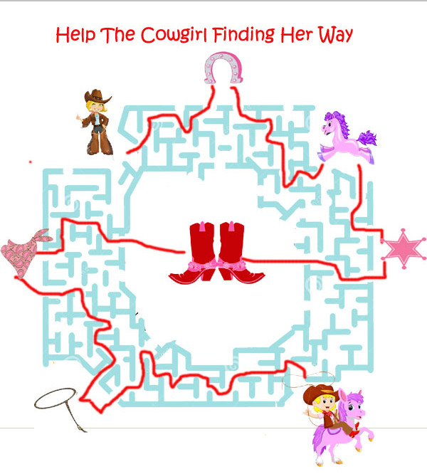 cowgirl theme party game answers