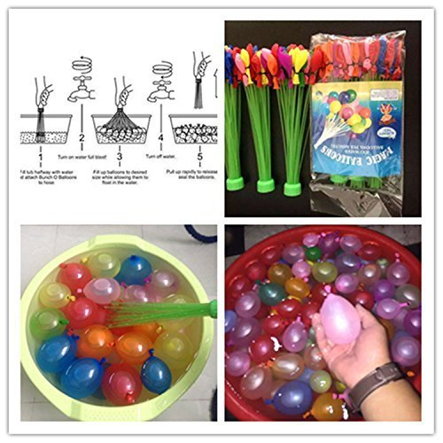 how to fill 100 water balloons in one minute