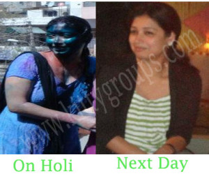 How to remove holi colours easily: Tried and Tested