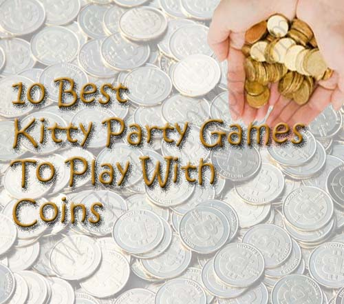 kitty party games with coins