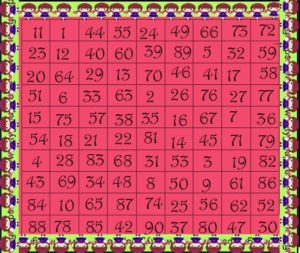 Interesting Tambola Game With 25 Numbers- Kitty Party Games