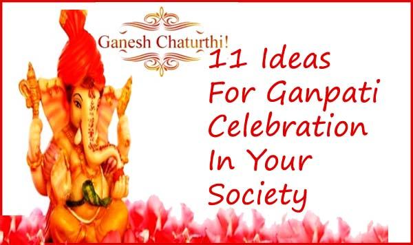 ganpati celebration ideas