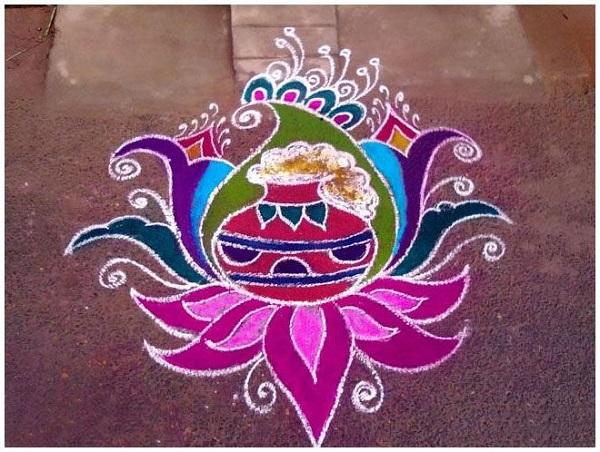 Diwali Rangoli Designs 1