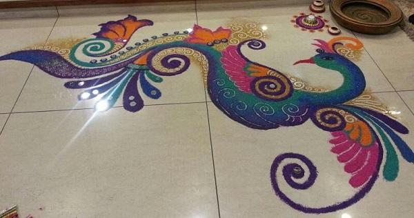 Diwali Rangoli Designs 10