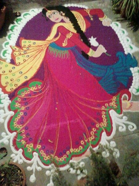 Diwali Rangoli Designs 12