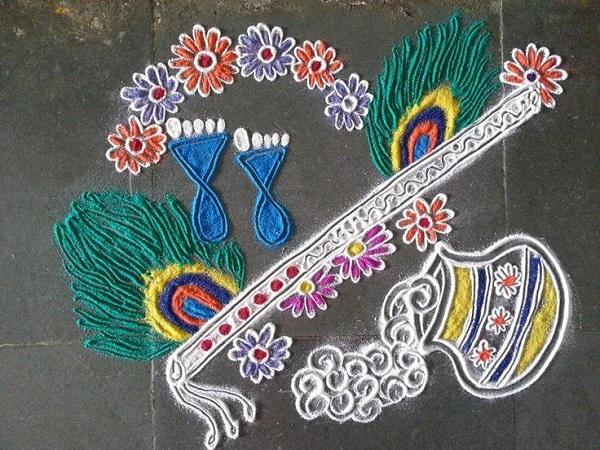 Diwali Rangoli Designs 19