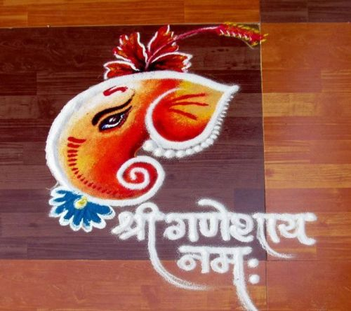 latest unique rangoli designs Diwali 2016